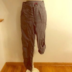 North face 10 pants 2 in 1 outdoor TNF capri/crop